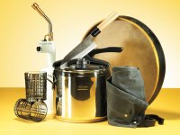 Camping Cooking Supplies Knife Apron Cups