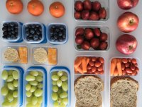 Prepared Healthy Snacks and Lunches