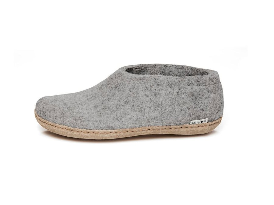 Felted wool shoes by Glerups