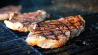 Grill Steak Cooking