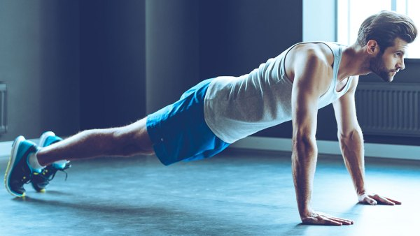 Man In High Plank