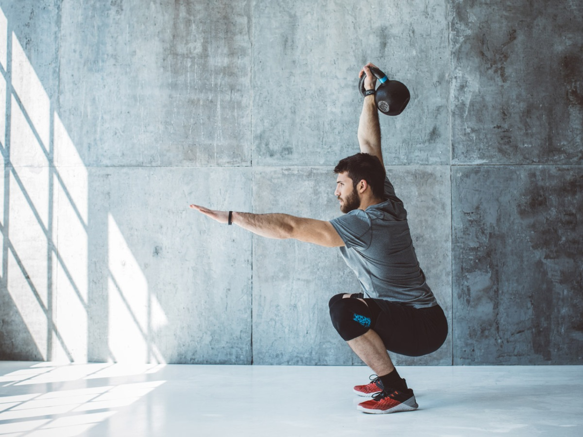 The Ultimate 15 Minute Kettlebell Workout For Busy Guys