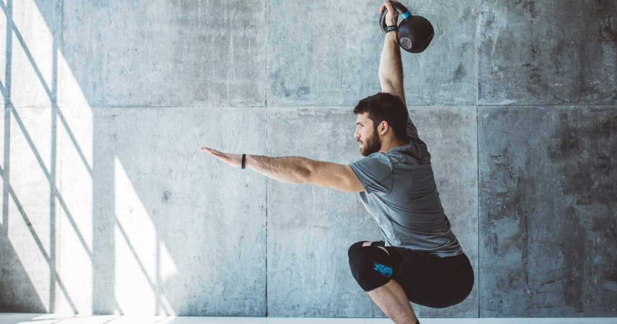 The Ultimate 15-Minute Kettlebell Workout for Busy Guys