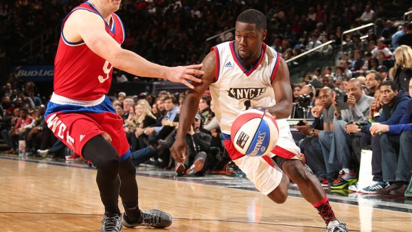 Kevin Hart at All-Star Game