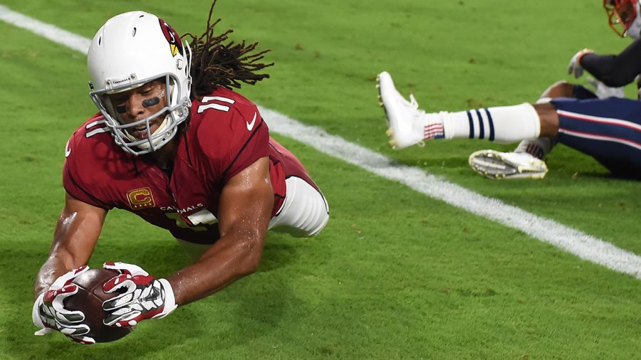 Larry Fitzgerald Cardinals catch