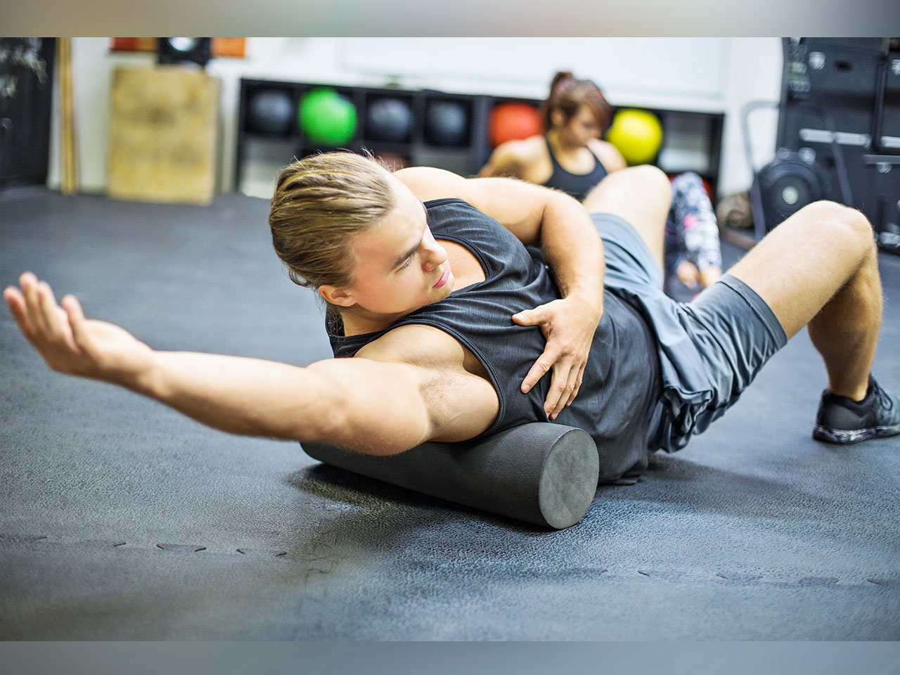 Watch Why Foam Rolling Before Bed Can Relieve Stress and Help You Sleep Better video