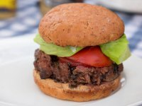 Lean Beef Black Bean Burger