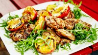 Protein Grilled Chicken On Plate