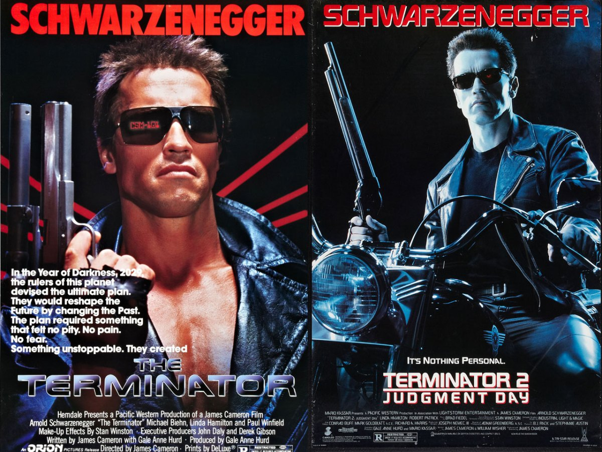 Arnold Schwarzenegger Terminator Series Facts About T1 And 2 Judgement Day
