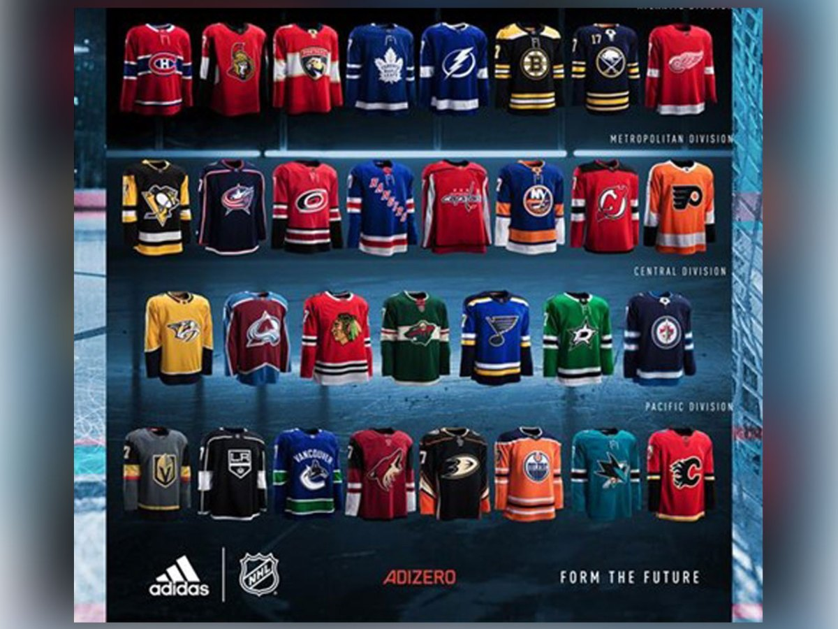 Check Out the NHL s Brand-New Adidas Jerseys for the 2017-18 season ee1fa5b34ba
