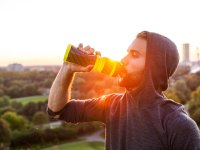 Water Botle Exercise Drink Hydration Workout