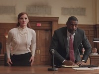 Molly's Game with Jessica Chastain and Idris Elba