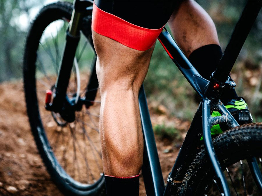 Calf Exercises: Muscular Calf on Bike