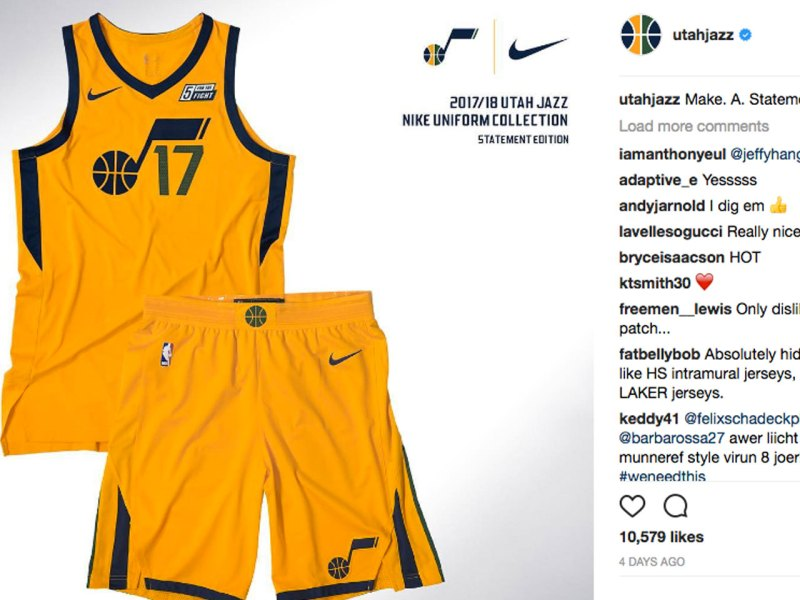 new styles ce24f e17a5 Nike Releases Fire NBA Jerseys Ahead of the Season