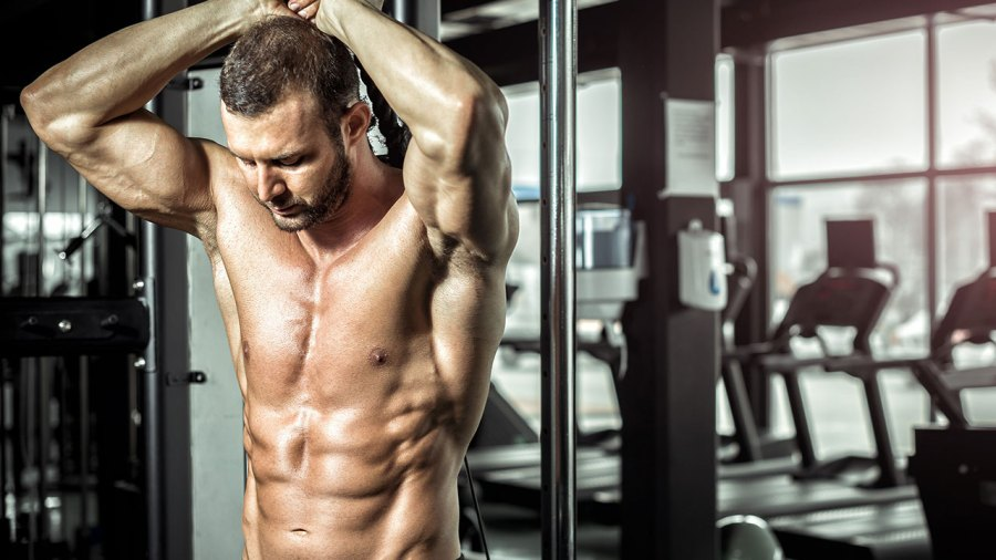 Overhead Rope Tricep Extension
