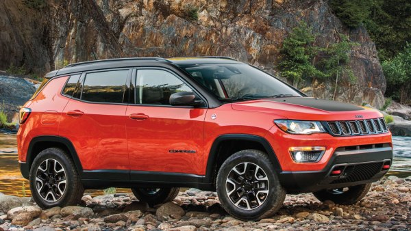 Red Jeep Compass