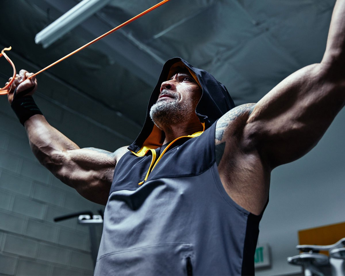 Dwayne 'The Rock' Johnson and Under Armour Launch 'Chase Greatness