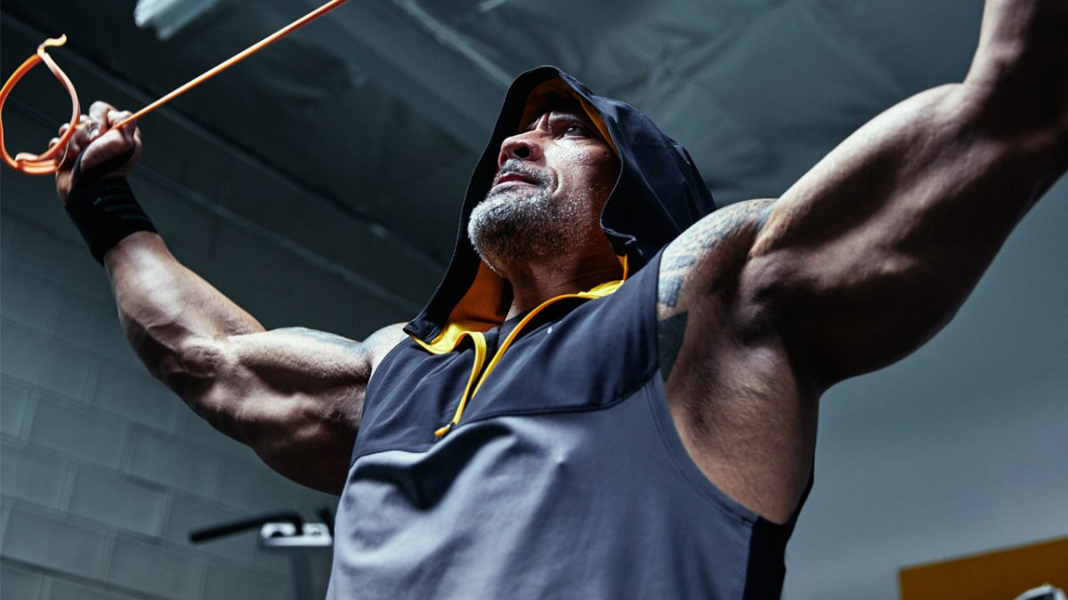 Dwayne The Rock Johnson And Under Armour Launch Chase
