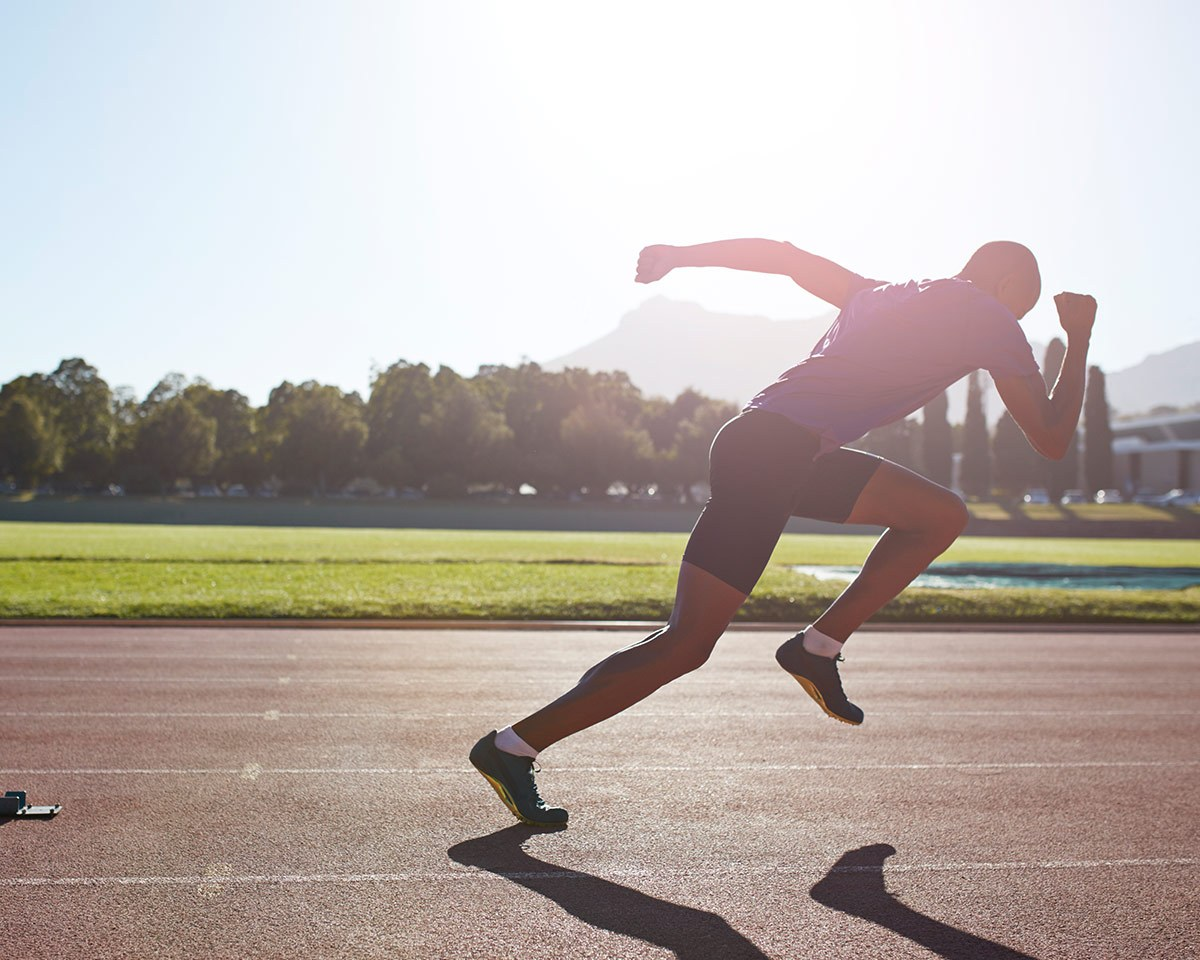 How to Sprint Off Your Weight