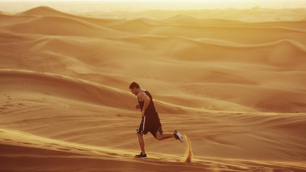Running in the Sand