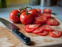 Tomatoes Sliced
