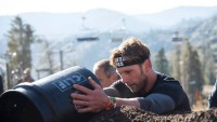 Editor Zack Zeigler competing in Lake Tahoe Spartan Race