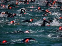 Swimming Ironman Race
