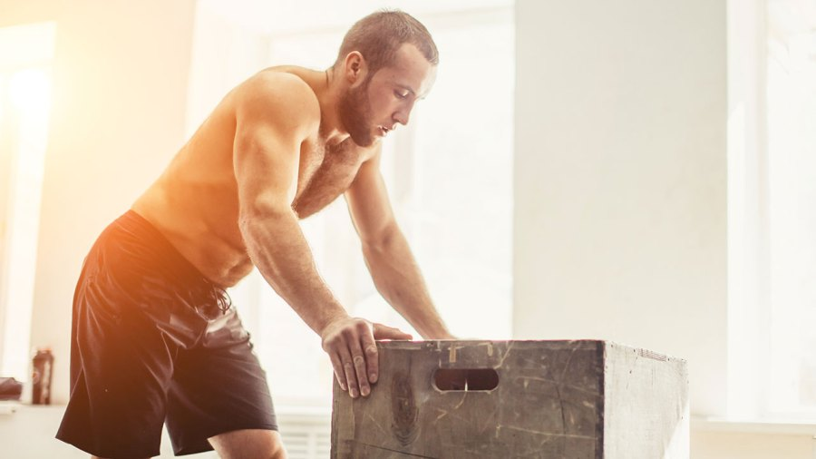 Man Workout Recovery