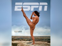 Michelle Waterson's ESPN Body Issue cover