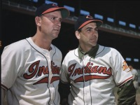 Joe Gordon and Lou Boudreau