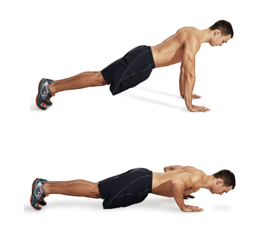 The Best Bodyweight Exercises For Your Chest And Other Similar Muscles
