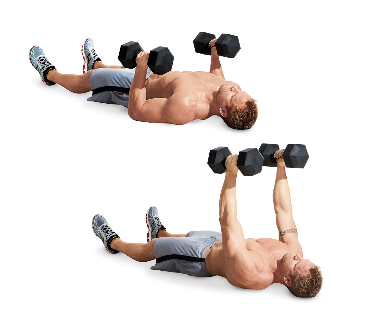 chest exercises that don't require a bench