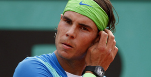 Nadal's Newest On-Court Acessory