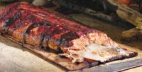 Planked Salmon With Juniper Rub