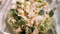 Chicken Salad With Artichokes and Bell Peppers