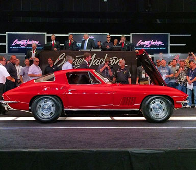 The Barrett-Jackson Collector Car Auction Signs Off in Style
