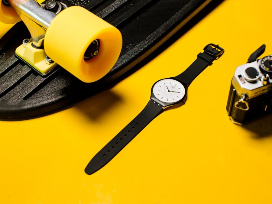 Swatch Watch On Table