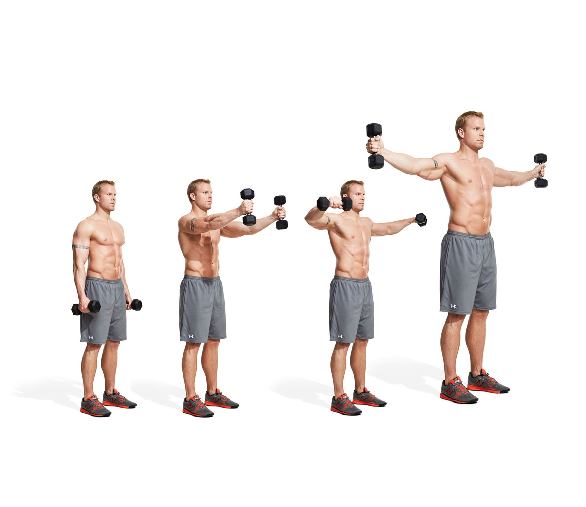 Complex exercises for arms and shoulders 63