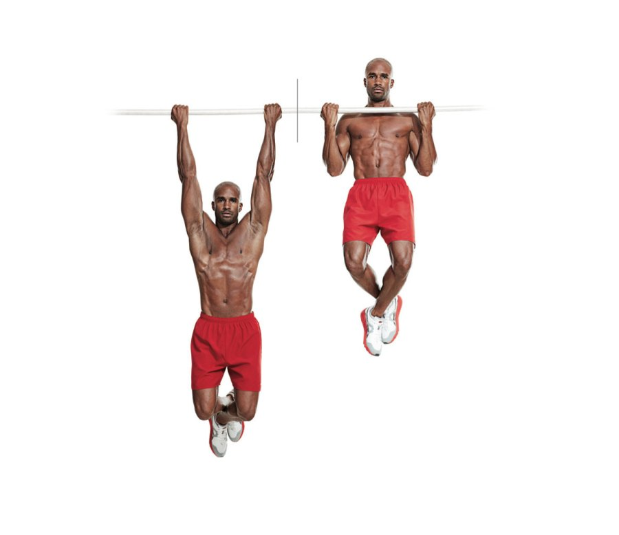 Alternating Grips Pullup