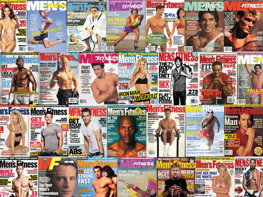 Our 30 Favorite 'Men's Fitness' Magazine Covers of All Time