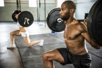 3. Lifting Weights & Interval Training
