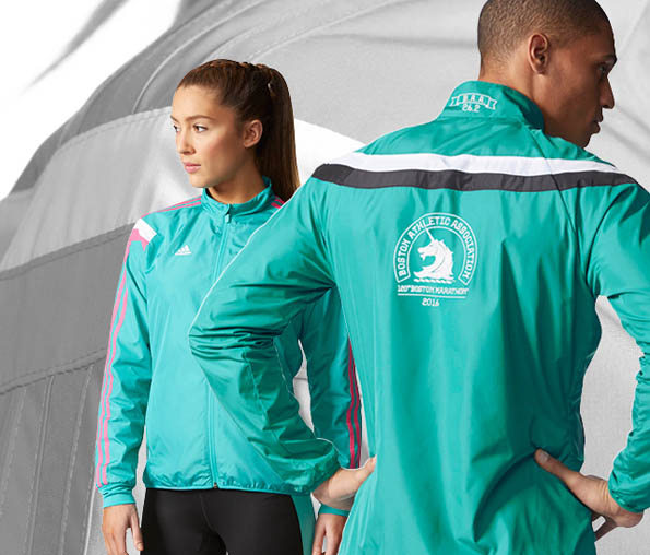 Adidas 2016 Official Boston Marathon® Anthem Jacket