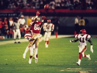 3. Super Bowl XXIII: Joe Montana to John Taylor