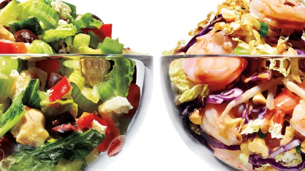 Muscle-building summer salads