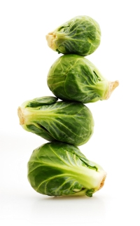 3) Brussels Sprouts