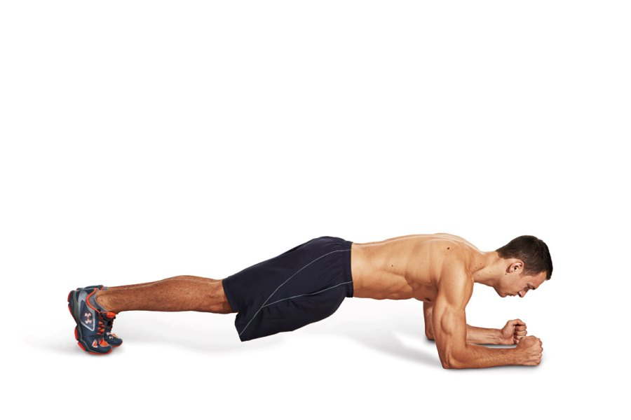 Workout #2: Timed circuit