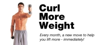 Curl More Weight