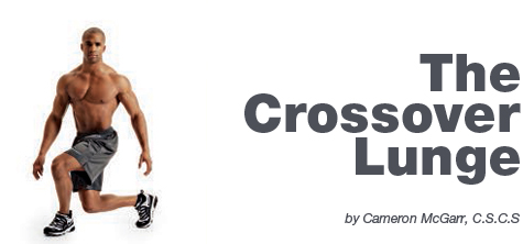 The Crossover Lunge