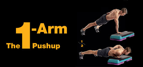 The 1-Arm Pushup