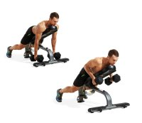 8. INCLINE DUMBBELL ROW